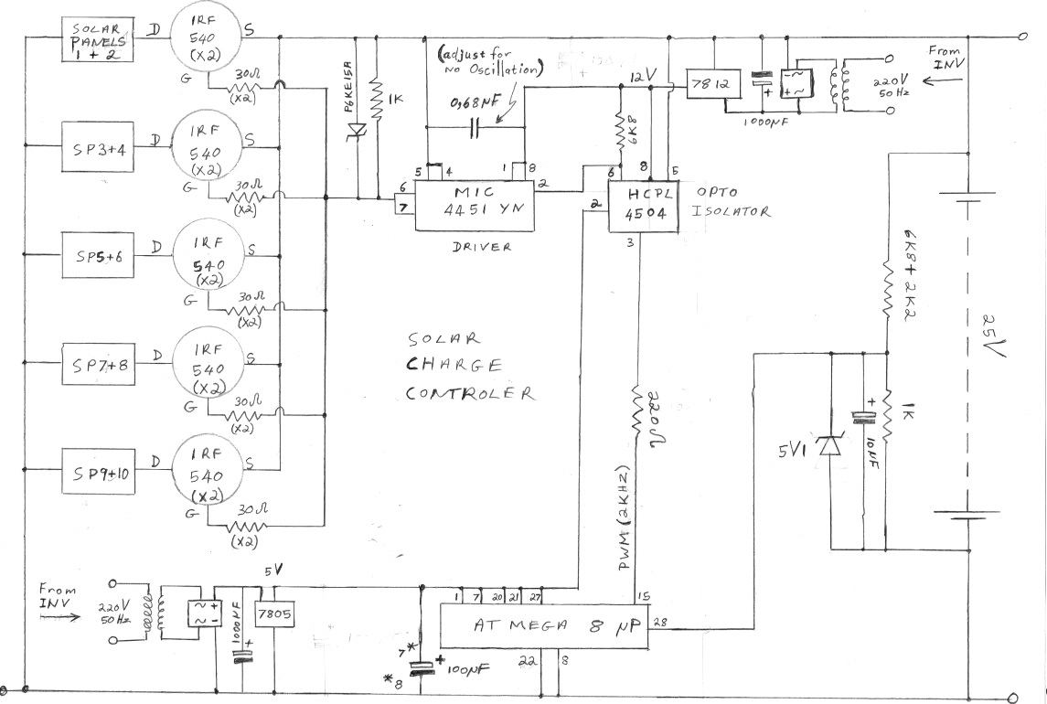 Solar Panel Charging System Circuit Diagram2 Diy Ev In Rsadiy Charger Diagram