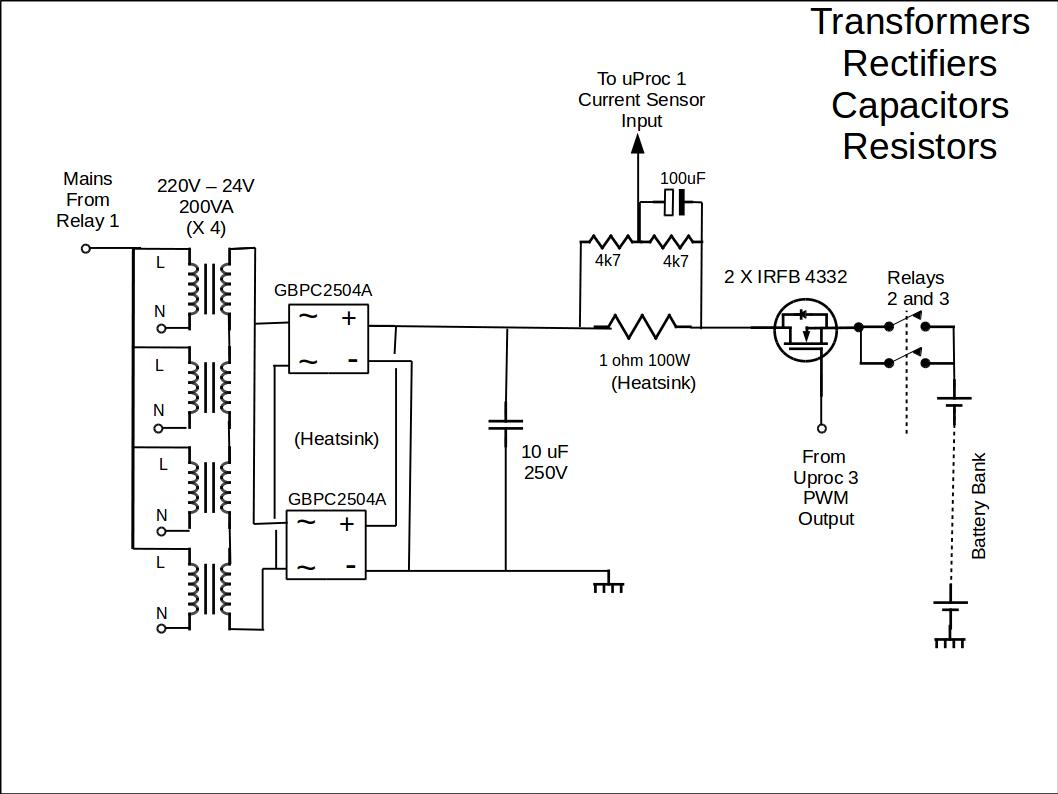 transformers-rectifiers-capacitors-resistors