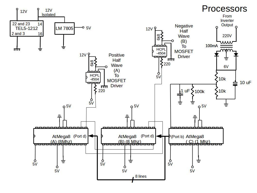 inverter-processors-circuit