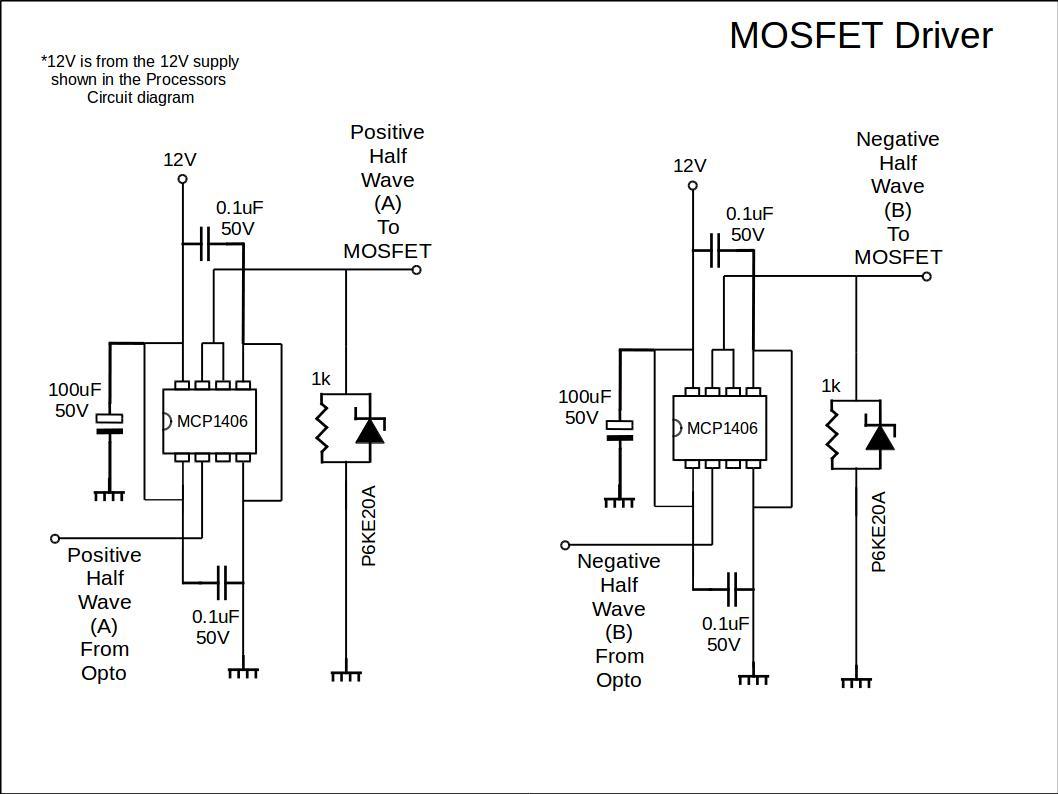 Mosfet Driver Circuit Diy Ev In Rsadiy Ev In Rsa