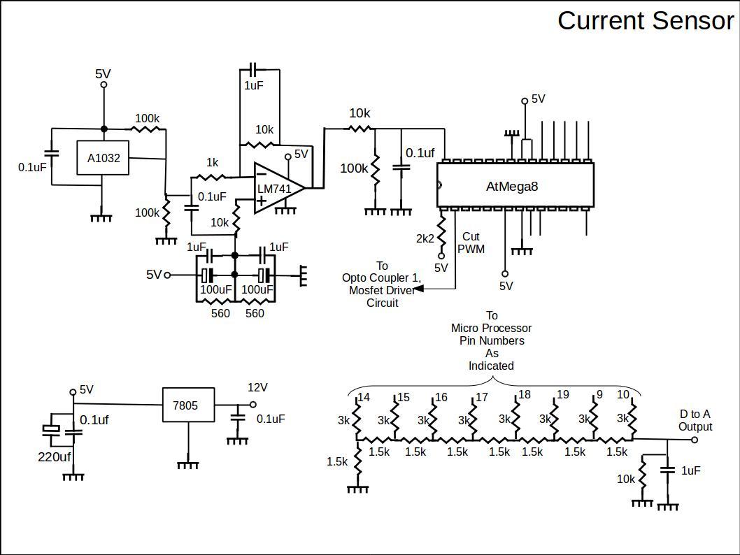 Current Sensor Circuit Diagram Schematic Diagrams Solar Panel Charging System Diy Ev In Rsadiy Rsa Pressure
