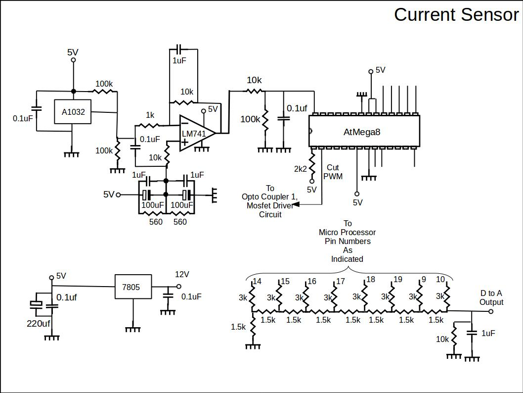 Current Sensor Diy Ev In Rsadiy Rsa Monitor Wiring Diagram The Circuit Is Shown Below