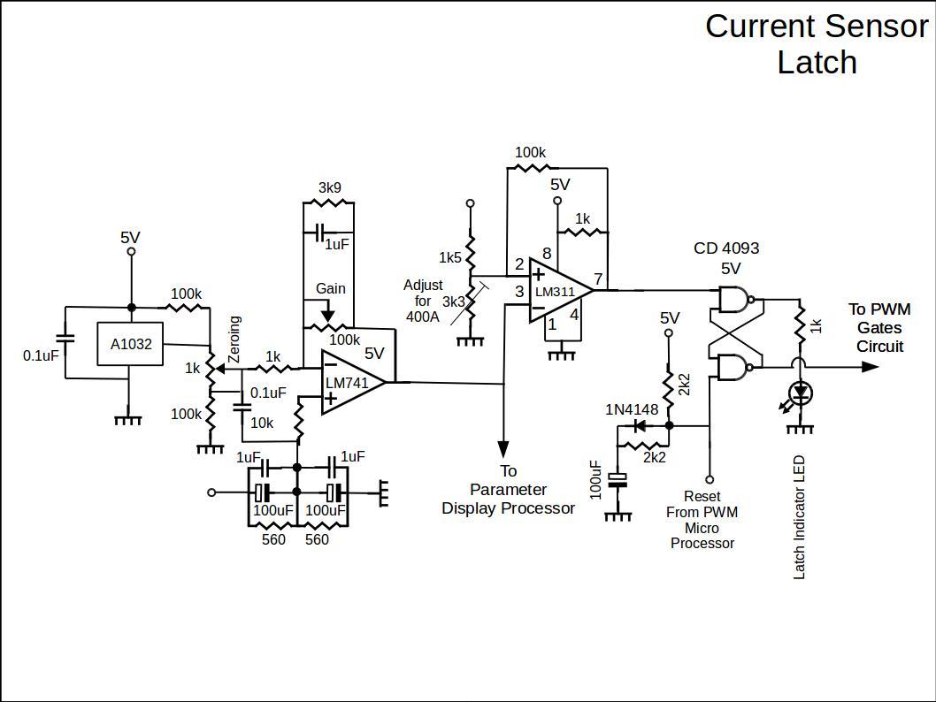 Multi Current Sensor Circuit Detector Latch 1 Diy Ev In Rsadiy Rsa