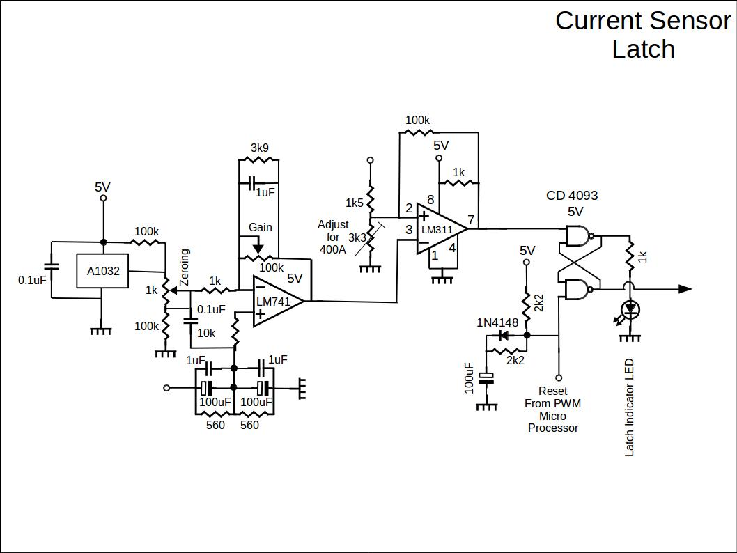 current-sensor-latch-circuit