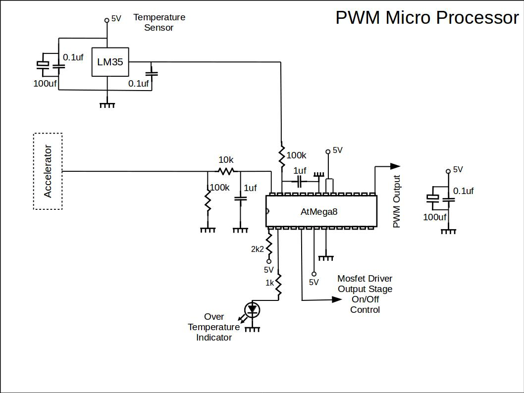 Pwm Micro Processor Circuit Diy Ev In Rsadiy Rsa Diagram