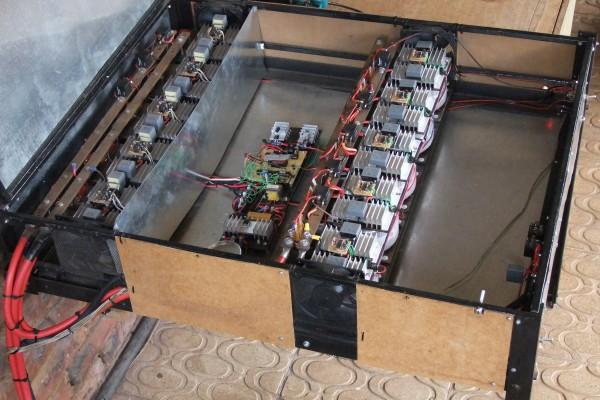 Inside 4 kW Inverter