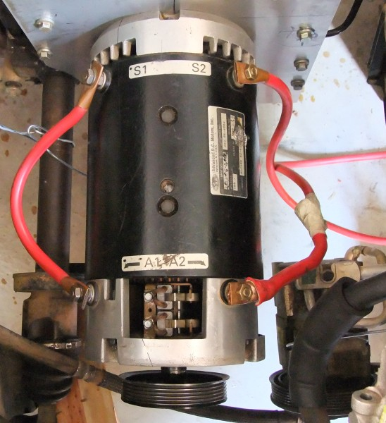 DC Motor Pulley